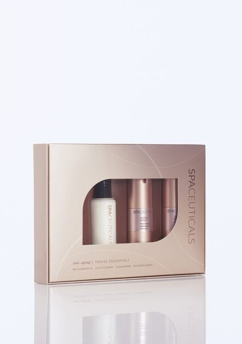 SPACEUTICALS Anti-Ageing Travel Essentials + FREE GIFT valued at $79!