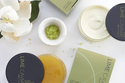 Waterlily Lime Caviar Products