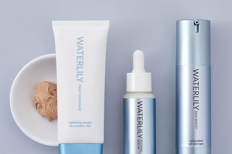 Waterlily skincare products